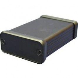 Hliníkové pouzdro 1455 Hammond Electronics 1455R2201BK, 223 x 160 x 30.5 , černá
