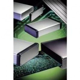 Hliníkové profilované pouzdro Hammond Electronics 1455B1202BK, (d x š x v) 122 x 71,7 x 19 mm, černá