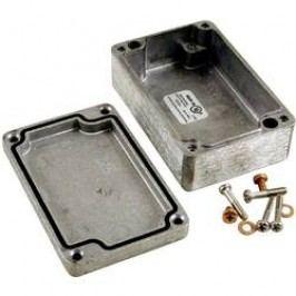 Univerzální pouzdro hliníkové Hammond Electronics 1590Z100, (d x š x v) 75 x 80 x 52 mm, hliníková