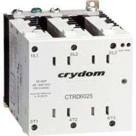 Polovodičové relé 3fázové Crydom CTRD6025-10, 25 A