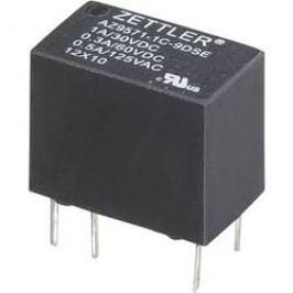 Subminiaturní Print relé Zettler Electronics AZ9571-1C-6DSE, 1 A , 60 V/DC/125 V/AC 30 V/DC/1 A, 60 V/DC/0,3 A, 125 V/AC/0,5 A