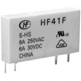 Relé do DPS Hongfa HF41F/012-ZST, 12 V/DC, 6 A, 1 přepínací kontakt, 1 ks