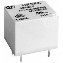 Relé Hongfa, HF3FA/005-ZTF, 10 A , 30 V/DC/ 277 V/AC , 2770 VA/ 300 W