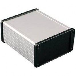 Univerzální pouzdro hliníkové Hammond Electronics, (d x š x v) 120 x 104 x 54,6 mm, černá