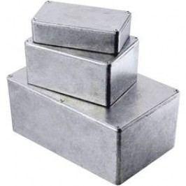 Tlakem lité hliníkové pouzdro Hammond Electronics, (d x š x v) 110,5 x 81,5 x 44 mm, hliníková