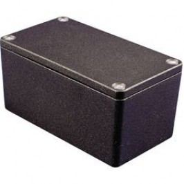 Univerzální pouzdro hliníkové Hammond Electronics 1550Z139BK, (d x š x v) 159 x 159 x 100,5 mm, černá