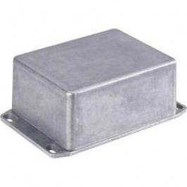 Tlakem lité hliníkové pouzdro Hammond Electronics 1590WFFLBK, (d x š x v) 188 x 188 x 63 mm, černá