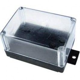 Univerzální pouzdro Kemo G021, 72 x 50 x 40 , termoplast, černá, transparentní