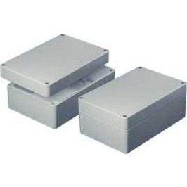 Hliníkové pouzdro aluNorm, (d x š x v) 120 x 80 x 60 mm, šedá (AS082)