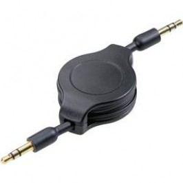 Navíjecí kabel Speaka 2x 3,5 mm konektor jack