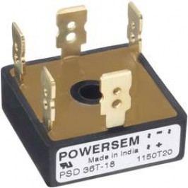 Můstkový usměrňovač 3fázový POWERSEM PSD 25MT-04, U(RRM) 400 V