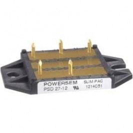 Můstkový usměrňovač 3fázový POWERSEM PSD 67-14, U(RRM) 1400 V
