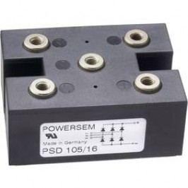 Můstkový usměrňovač 3fázový POWERSEM PSD 75-14, U(RRM) 1400 V