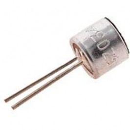 Elektretový mikrofon EMY-63M, -38 dB, 30 - 20000 Hz, AWG 2000 Ω, EMY-63M/P, 3 - 10 V/DC