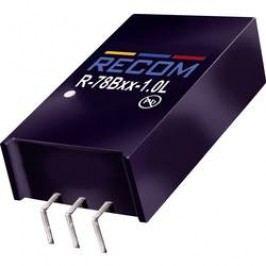 DC/DC měnič Recom R-78HB15-0.5L (80099189), výstup 15 V/DC / 0,5 A, vstup 20 - 72 V/DC