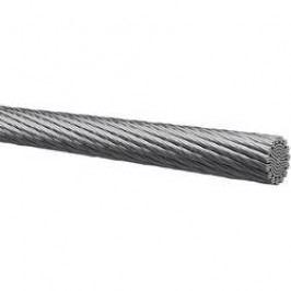 Kabel Kabeltronik 401005001, 1x 0,50 mm², Ø 1 mm, 1 m, stříbrná