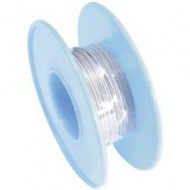 Vinutý drát 93014c353, 1x 0,05 mm², Ø 0,45 mm, 15 m, šedá