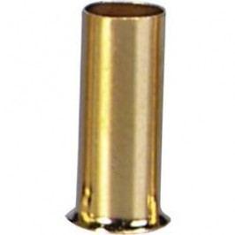 Koncovka pro kabely Sinus, 2,5 mm², 20 ks, pozlacená