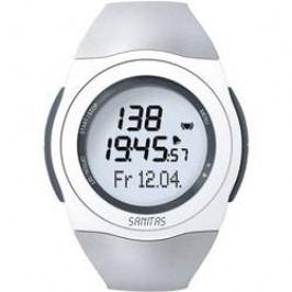 Hodinky s měřením pulzu Sanitas SPM-25, 673.28, šedá/bílá
