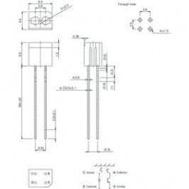 Optický snímač Rohm Semiconductor RPR-220