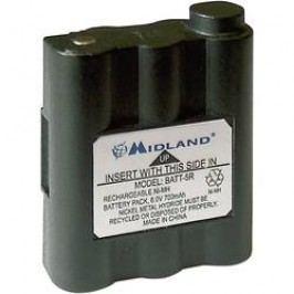 Akumulátor pro radiostanice Midland C784, nahrazuje PB-ATL/G7, 6 V, 700 mAh