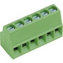 Pájecí šroub. svorka 3nás. AKZ692/3-2.54-V (50692030021E), AWG 30-18, 2,54 mm, zelená