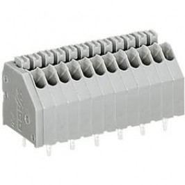 Pájecí svorkovnice série 250 WAGO 250-410, AWG 24-20, 0,4 - 0,8 mm², 10, 2,5 mm, 2 A, šedá