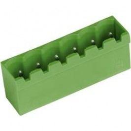 Vertikální svorkovnice PTR STL950/8G-5.0-V (50950085101D), 8pól., zelená