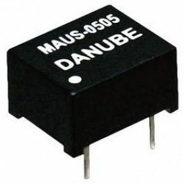 DC/DC měnič Danube MAUS-0505, 5 V/DC, 200 mA, 1 W