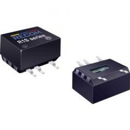 DC/DC měnič Recom R1D-1212 (10900232), vstup 12 V/DC, výstup ± 12 V/DC, ± 41 mA, 1 W