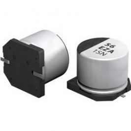 SMT kondenzátor elektrolytický Panasonic polymer EEHZA1J220XP, 22 µF, 63 V, 20 %, 7,7 x 6,3 mm