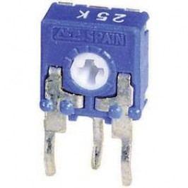 Trimer miniaturní, lineární, 0,1 W, 100 Ω, 215 °, 235 °, CA6 H