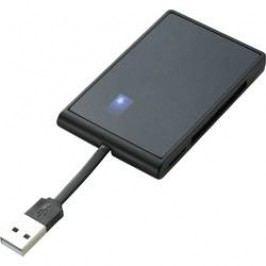 Čtečka paměťových karet Renkforce, VCR-643, USB 3.0, černá