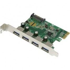 USB hub do PCI Express Renkforce, 4x USB 3.0