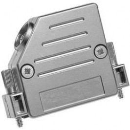 D-SUB pouzdro Provertha 47090M25T001 47090M25T001, Pólů: 9, plast, pokovený, 45 °, stříbrná, 1 ks