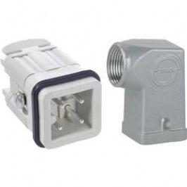 Sada konektorů EPIC®KIT H-A 3 75009604 LappKabel 3 + PE šroubovací 1 sada