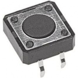 Tlačítko APEM PHAP3320A, 12 V/DC, 0,05 A, do DPS, 1x zap, 1x vyp/(zap)