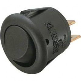 Kolébkový přepínač SCI R13-270A, 15,2 mm, 250 V/AC, 6 A, 1x vyp/zap