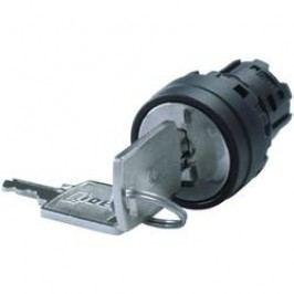 Klíčový spínač Idec IDEC YW Serie (YW1K-3G), 2x 45 °, 22 mm, černá
