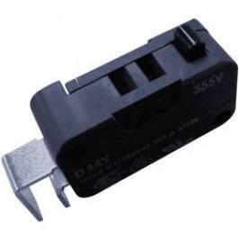 Mikrospínač Cherry Sw. D443-P4AA, 250 V/AC, 10 A, do DPS, 1x zap/(zap)