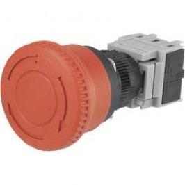 Nouzové tlačítko LAS1-BY-11TSB, 16 mm, 250 V/AC, 5 A, červená