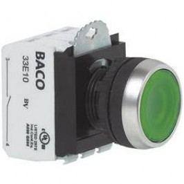 Tlačítko BACO L21AH50L (BAL21AH50L), 22,3 mm, 600 V, 10 A, šroubovací, bílá