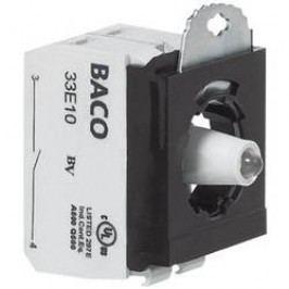 Kontaktní prvek s LED BACO 333EAWL11, 24 V, 10 A, šroubovací, 1 rozpínací/1 spínací