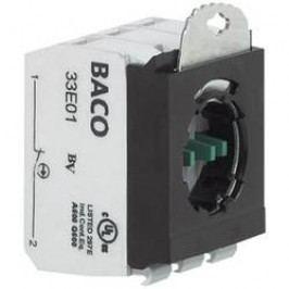 Kontaktní blok s adaptérem BACO BA333E10, 600 V, 10 A, šroubovací, 1 spínací