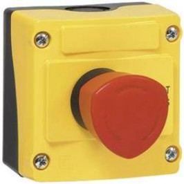 Nouzové tlačítko BACO LBX17302 (BALBX17302), 240 V/AC, 1,5 A, žlutá/červená