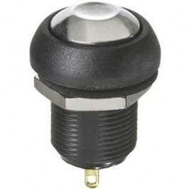 Tlačítko APEM ILR3SAD8, 12 mm, 24 V/DC, 2 A, pájecí očka, 1 spínací, 1x vyp/(zap)