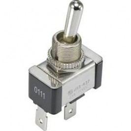 Páčkový přepínač SCI R13-437A1-01B, 14 V/DC, 21 A, pájecí očka, 1x vyp/zap