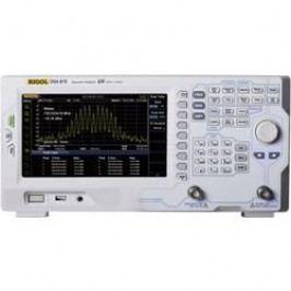 Spektrální analyzátor Rigol DSA815, 9 kHz - 1,5 GHz GHz, Šířky pásma (RBW) 100 Hz - 1 MHz
