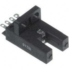 Optická závora ve tvaru U Pepperl & Fuchs GL5-J/43a/155, přepínání světlo/tma, dosah 5 mm, DPS