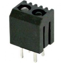 Miniaturní reflexní optický snímač do DPS Kondenshi Auk SG128IR, páj. kontakty, dosah 8 mm